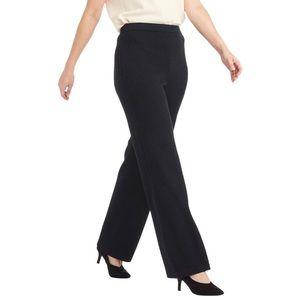 St John Santana Knit Black Pants Women's Size 10